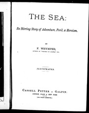 The sea by Frederick Whymper
