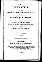 Cover of: A narrative of the voyages round the world performed by Captain James Cook |
