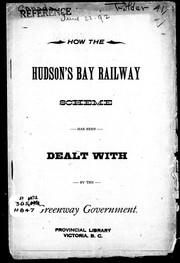 Cover of: How the Hudson
