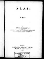 Cover of: Alas!