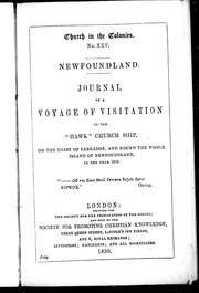 Newfoundland by Edward Feild