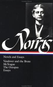 Cover of: Novels and essays | Frank Norris