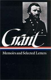 Cover of: Memoirs and selected letters