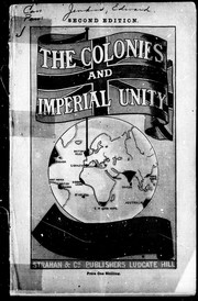 unity in the colonies This article relates the history of how the original 13 british colonies in north america became the first 13 states of the united states of america.