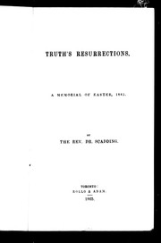 Cover of: Truth's resurrections