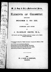 Cover of: Elements of geometry