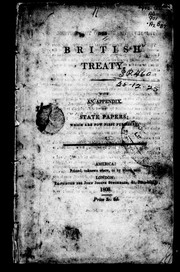Cover of: The British treaty