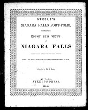 Cover of: Steele's Niagara Falls port-folio