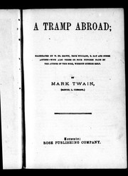 Cover of: A tramp abroad | Mark Twain