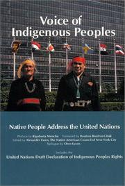 Cover of: Voice of Indigenous Peoples  |