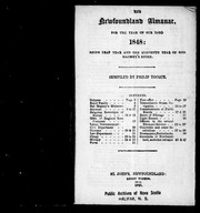 Cover of: The Newfoundland almanac, for the year of Our Lord 1848