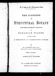 Cover of: The elements of structural botany | H. B. Spotton