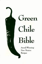 Cover of: Green Chile Bible
