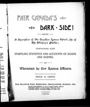 Cover of: Fair Canada's dark side!
