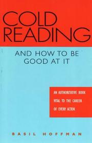 Cover of: Cold Reading and How to Be Good at It