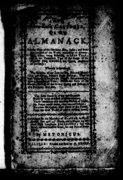 Cover of: The Nova Scotia calender, or, An Almanack for the year of the Christian ñra, 1780