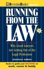 Cover of: Running from the Law