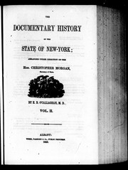 Cover of: The Documentary history of the state of New-York | Edmund Bailey O