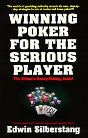 Cover of: Winning poker for the serious player