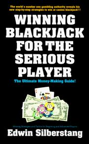 Cover of: Winning blackjack for the serious player