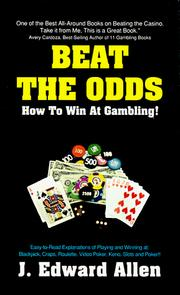 Cover of: Beat the odds | J. Edward Allen