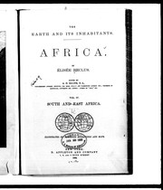 Cover of: The earth and its inhabitants, Africa