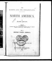 Cover of: The earth and its inhabitants, North America