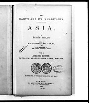 Cover of: The earth and its inhabitants, Asia