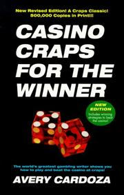 Cover of: Casino craps for the winner | Avery Cardoza