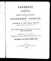 Appendix to the Narrative of a second voyage in search of a north-west passage by Sir John Ross