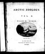Cover of: Arctic zoology