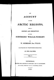 Cover of: An account of the Arctic regions