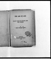 Cover of: The aim of life