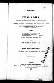 Cover of: The history of the province of New-York, from the first discovery to the year 1757