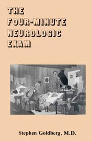 Cover of: The Four-Minute Neurologic Exam (MedMaster Series, 2004 Edition) (Medmaster Series)