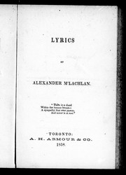 Cover of: Lyrics