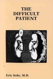 Cover of: The Difficult Patient