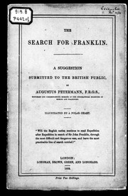 Cover of: The search for Franklin