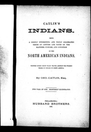 Cover of: Catlin's Indians