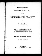 Cover of: A popular and practical exposition of the minerals and geology of Canada