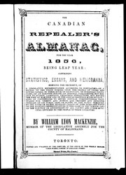 Cover of: The Canadian repealer's almanac, for the year 1856, being leap year