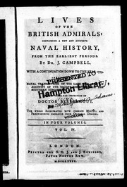 Cover of: Lives of the British admirals | Campbell, John