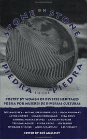 Cover of: Stone on Stone/Piedra sobre piedra | Zoe Anglesey
