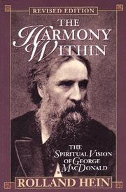 Cover of: harmony within | Rolland Hein
