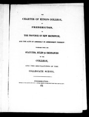 Cover of: The Charter of King