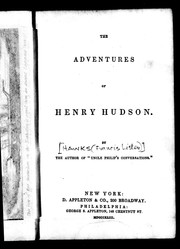 Cover of: The adventures of Henry Hudson
