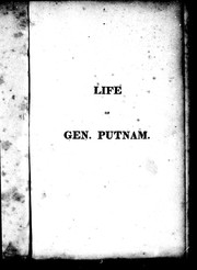 Cover of: An essay on the life of the Honourable Major General Israel Putnam | Humphreys, David