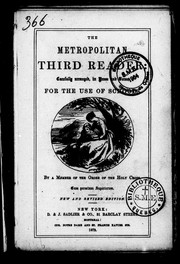 Cover of: The metropolitan third reader | Gillespie, Angela Mother