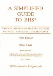A simplified guide to BHS by William Robert Scott