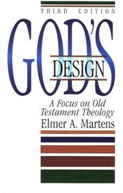 Cover of: God's design